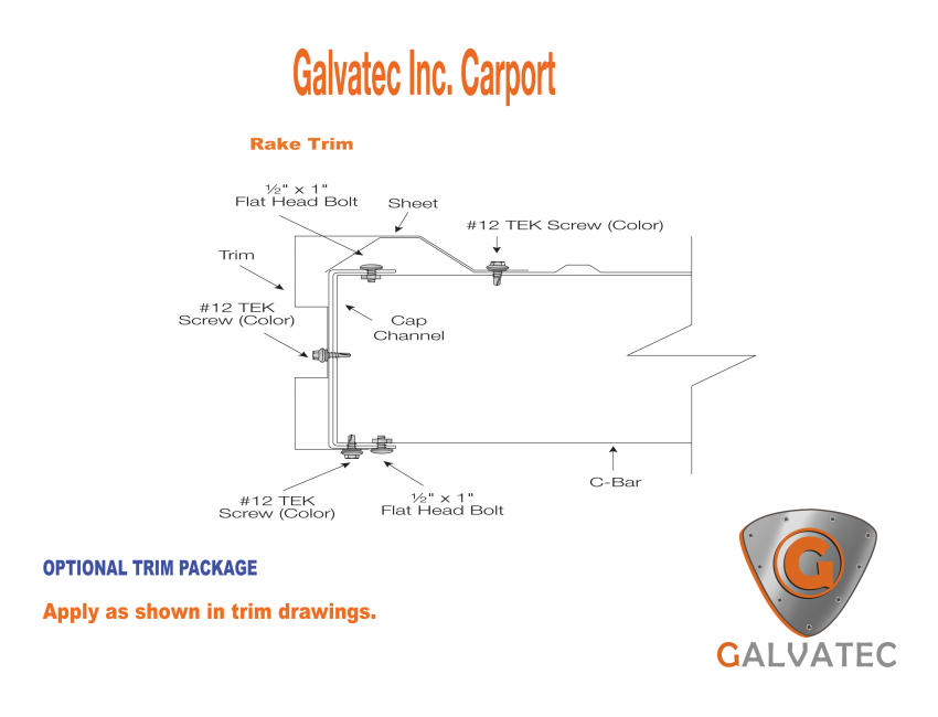 Carports Galvatec