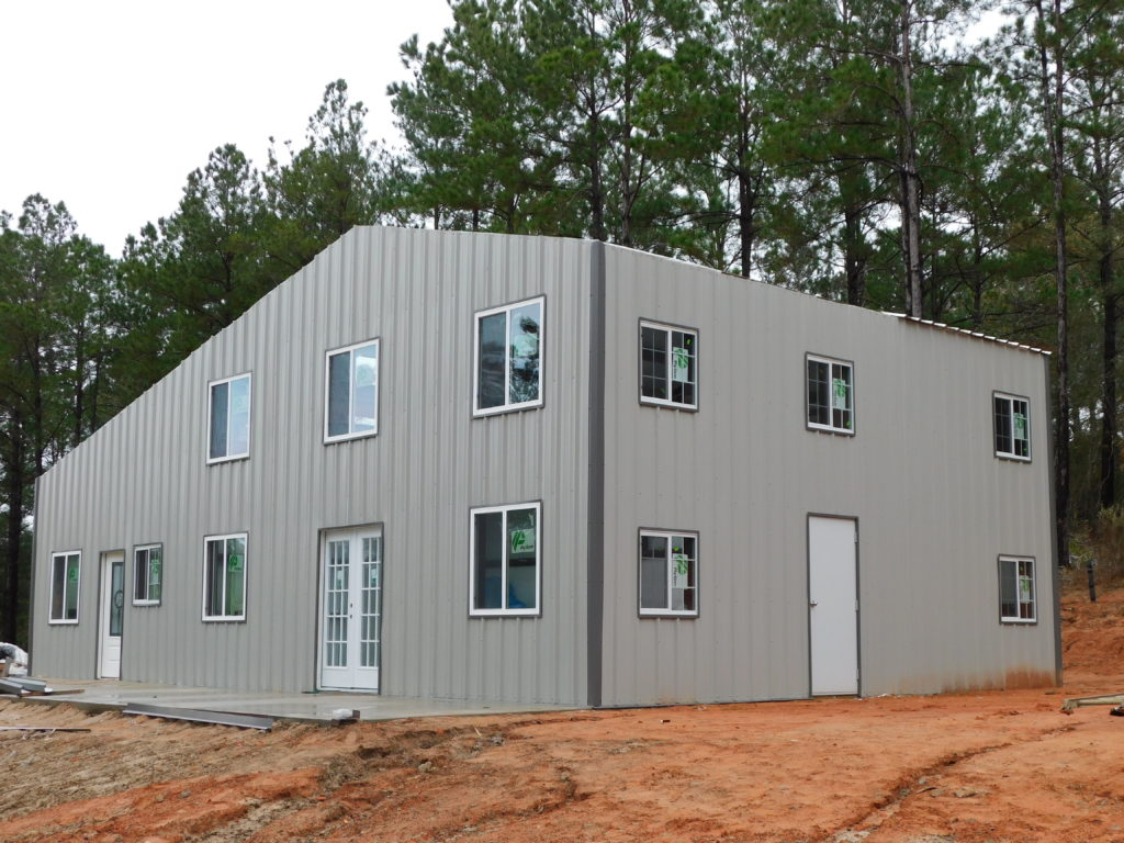 Project 19. Metal Building Homes